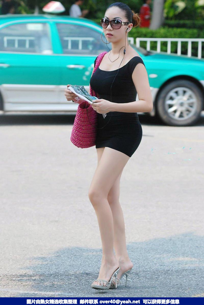 丰乳肥臀长腿 [12P] - 大众街拍 - 大众街拍