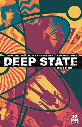 Deep State #1-8 (2014-2015) Complete