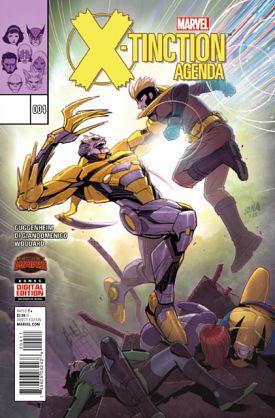 X-tinction Agenda #1-4 (2015) Complete