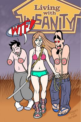 Living With Insanity #1-3 (2015)