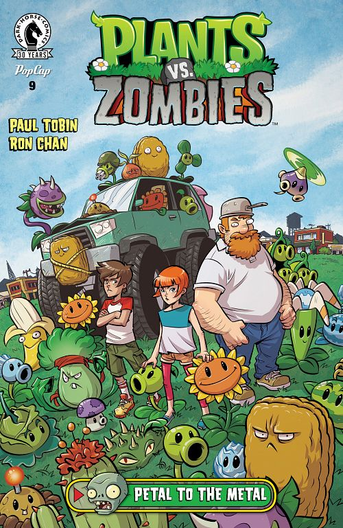 Plants vs. Zombies #1-12 (2015-2016)
