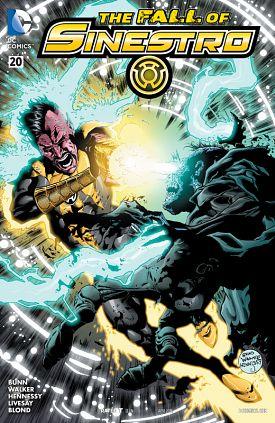 Sinestro #1-23 + Annual + Special (2014-2016)