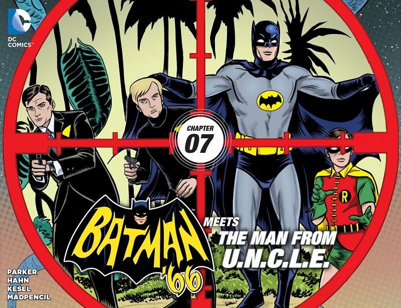 Batman '66 Meets the Man From U.N.C.L.E. #1-12 (2015-2016) Complete