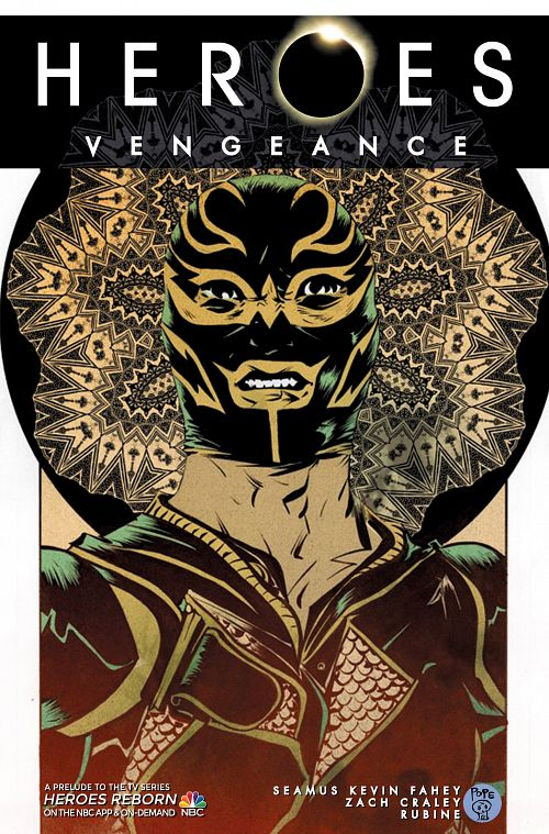 Heroes - Vengeance #1-5 (2015-2016) Complete