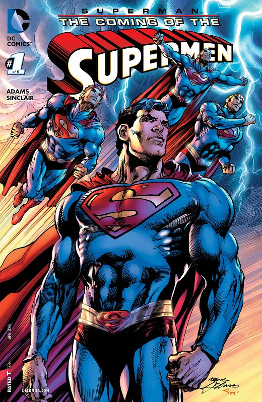 Superman The Coming Of The Supermen #1-6 (2016) Complete