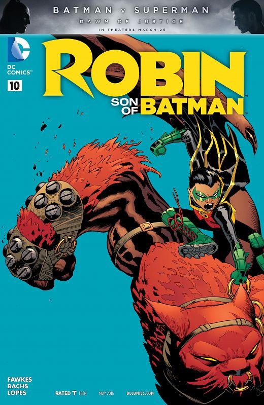 Robin - Son of Batman #1-13 (2015-2016) Complete