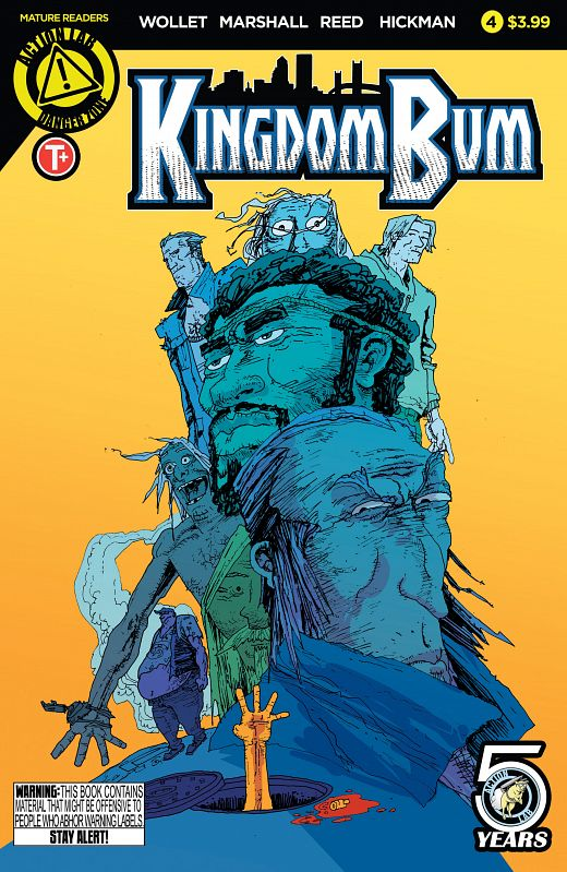 Kingdom Bum #1-4 (2015-2016) Complete