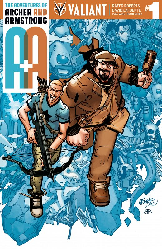 A&A - The Adventures of Archer & Armstrong #1-12 (2016-2017)