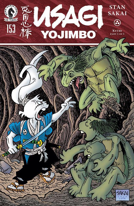 Usagi Yojimbo v3 #145-163 (2015-2018)