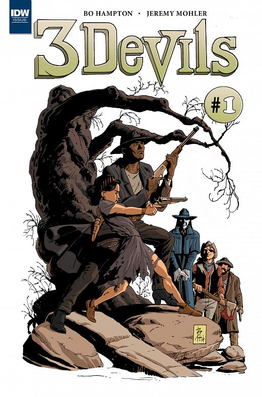 3 Devils #1-4 (2016) Complete