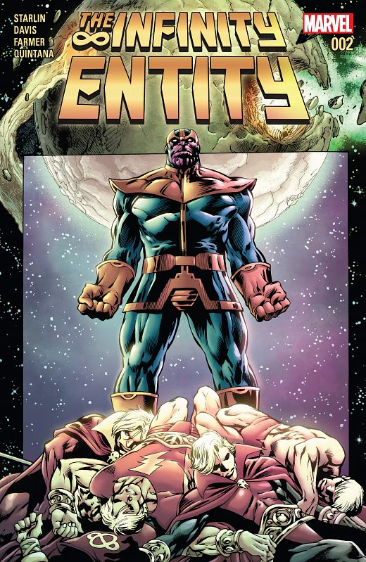 The Infinity Entity #1-4 (2016) Complete