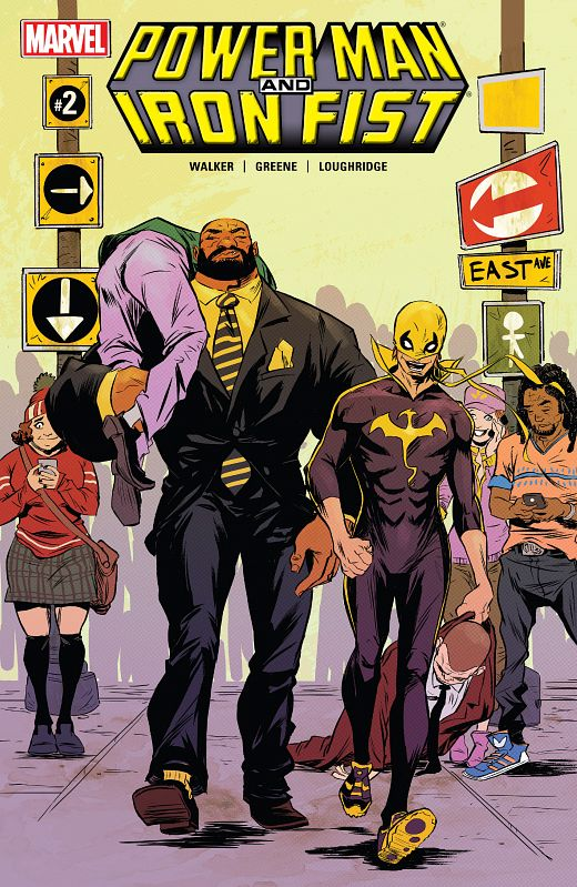 Power Man and Iron Fist #1-15 + Annual (2016-2017)