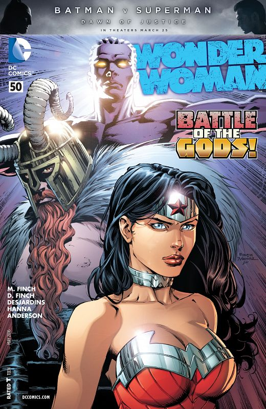Wonder Woman #0-52 + Special + Annual (2011-2016) Complete