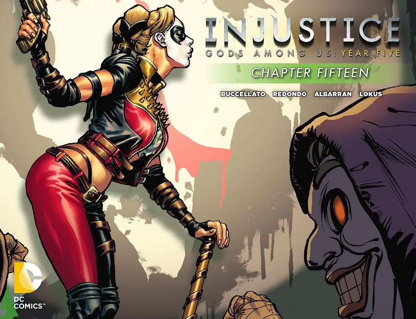 Injustice - Gods Among Us - Year Five #1-20 (2015-2016)