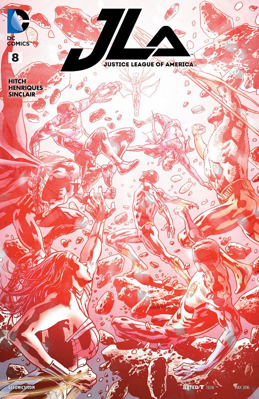 Justice League Of America #1-10 (2015-2017)