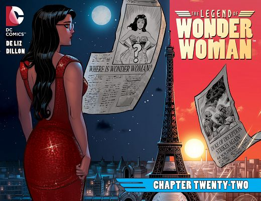The Legend of Wonder Woman #1-27 (2015-2016) Complete