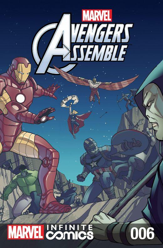 Marvel Universe Avengers Assemble Infinite Comic #1-10 (2016) Complete
