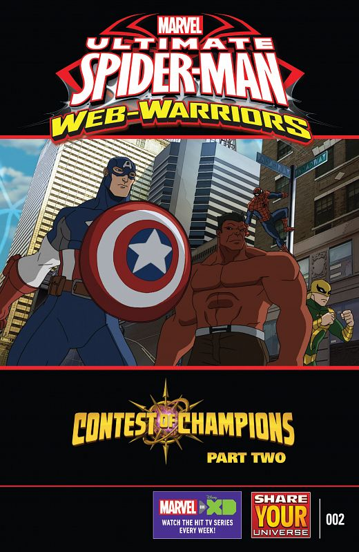 Marvel Universe Ultimate Spider-Man - Web-Warriors - Contest of Champions #1-4 (2016)