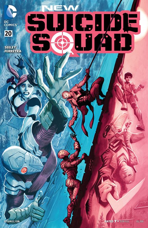 New Suicide Squad #1-22 + Special + Annual (2014-2016) Complete