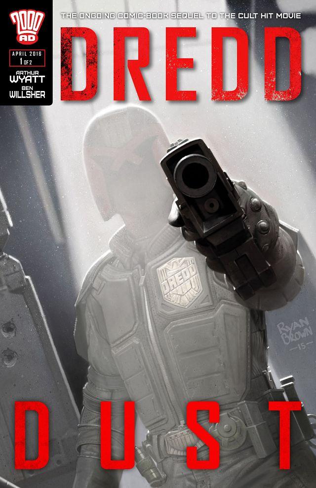 Dredd - Dust #1-2 (2016) Complete