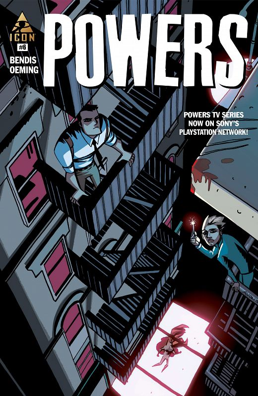 Powers Vol.4 #1-8 (2015-2017) Complete