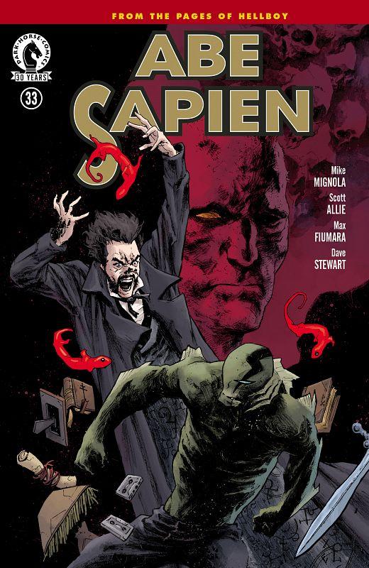 Abe Sapien v2 #1-36 (2013-2016) Complete