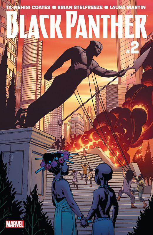 Black Panther #1-18 (2016-2017)