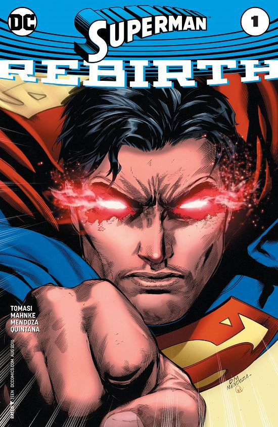 Superman - Rebirth 001 (2016)