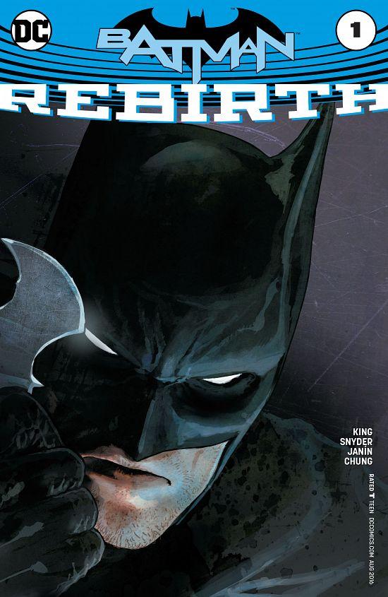 Batman - Rebirth 001 (2016)