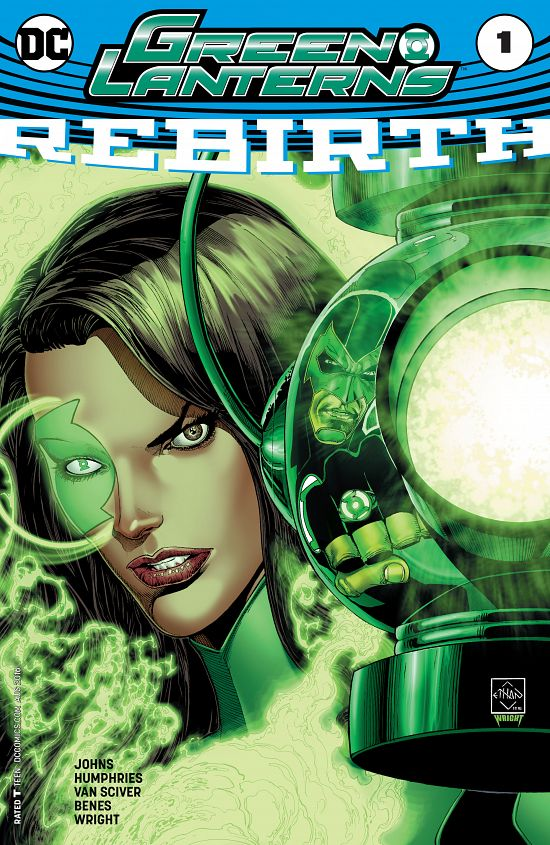 Green Lanterns - Rebirth 001 (2016)