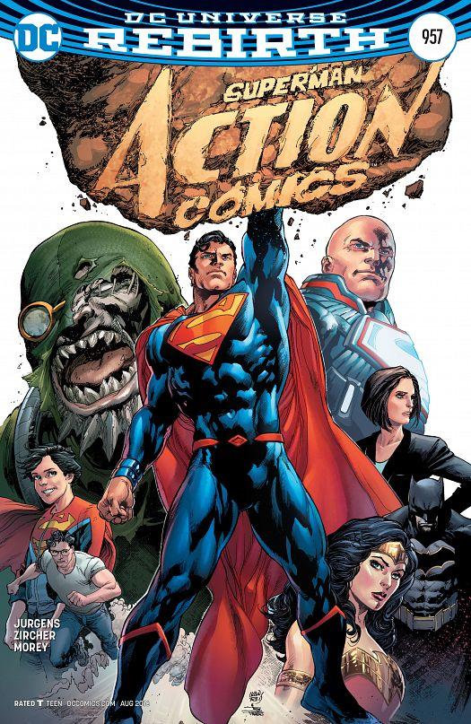 Action Comics 957-978 (2016-2017)