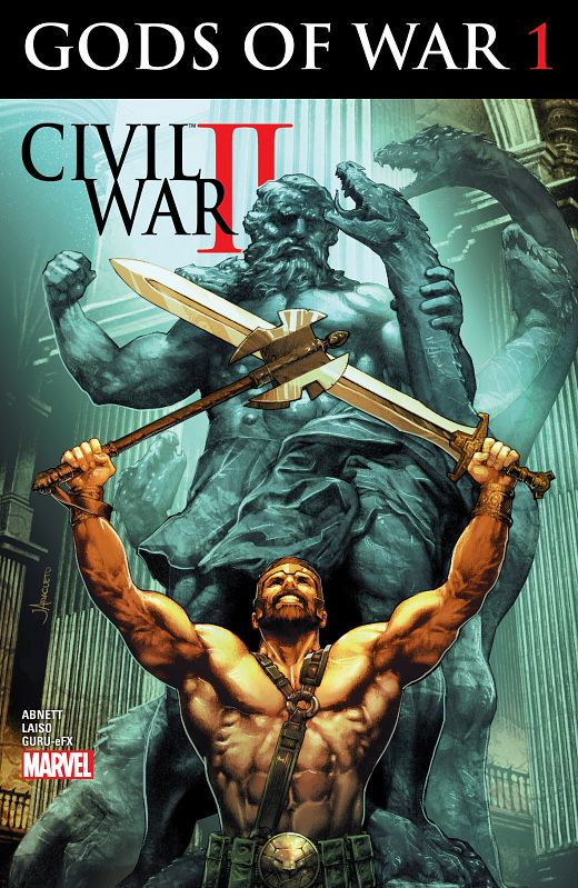 Civil War II - Gods of War #1-4 (2016) Complete