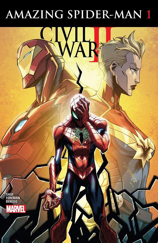 Civil War II - Amazing Spider-Man #1-4 (2016) Complete