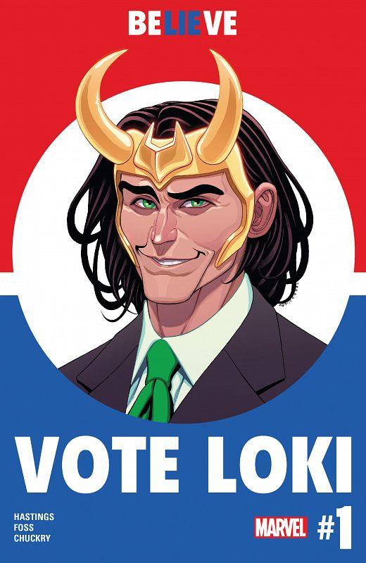 Vote Loki #1-4 (2016) Complete