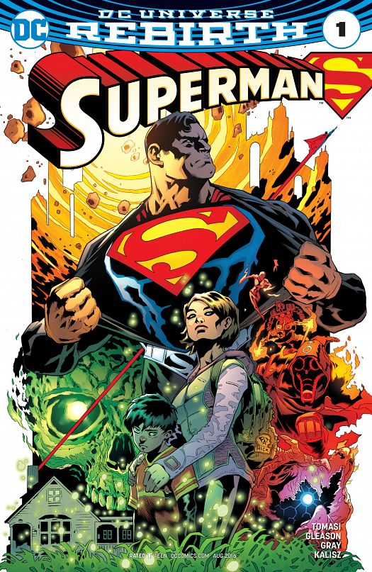 Superman #1-29 + Annual (2016-2017)