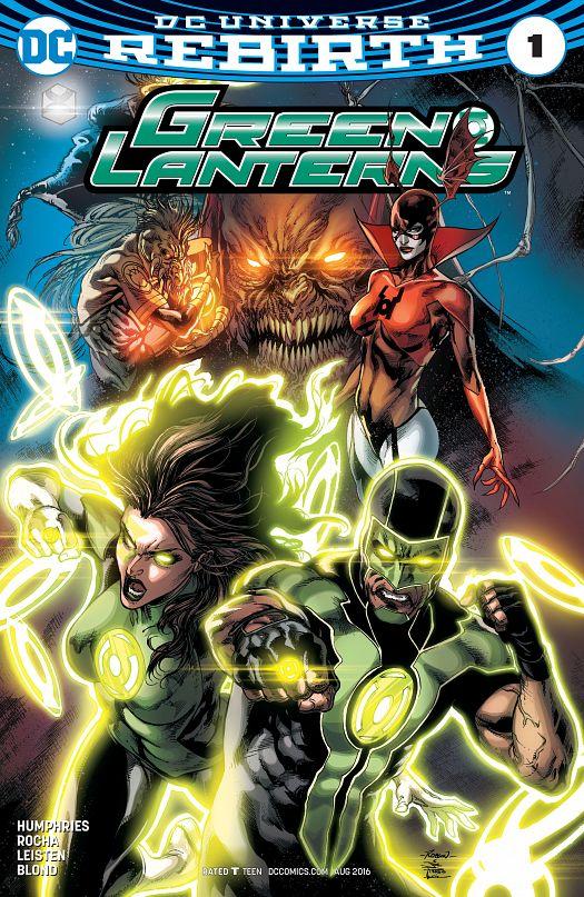 Green Lanterns #1-15 (2016-2017)