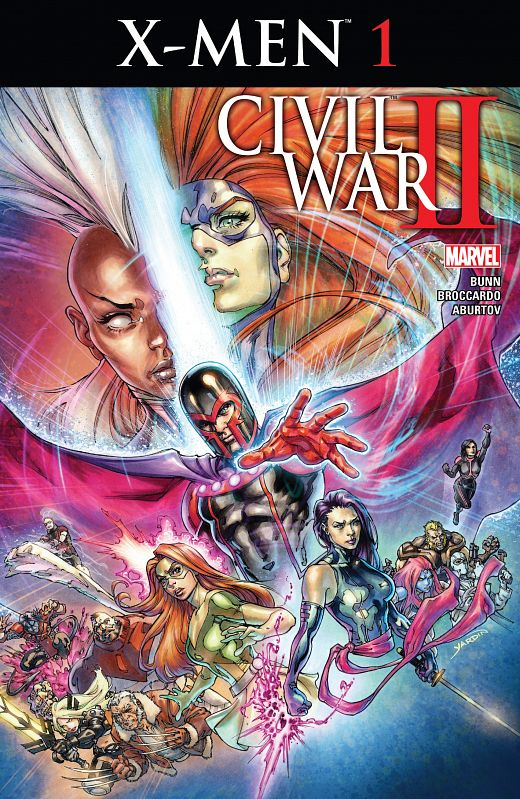 Civil War II - X-Men #1-4 (2016) Complete