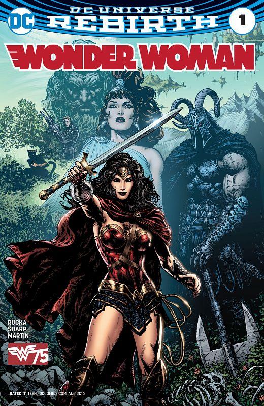 Wonder Woman #1-19 (2016-2017)
