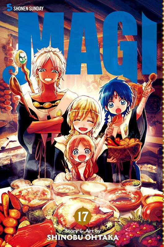 Magi - Labyrinth of Magic v01-v29 (2013-2018)