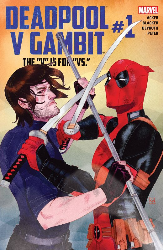 Deadpool v Gambit #1-5 (2016) Complete