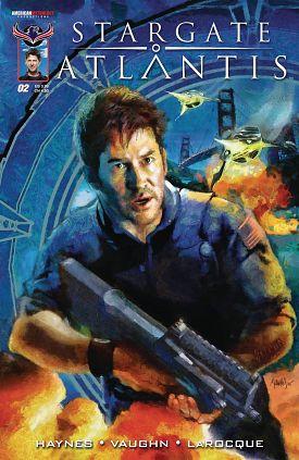 Stargate Atlantis Back to Pegasus #1-3 (2016) Complete