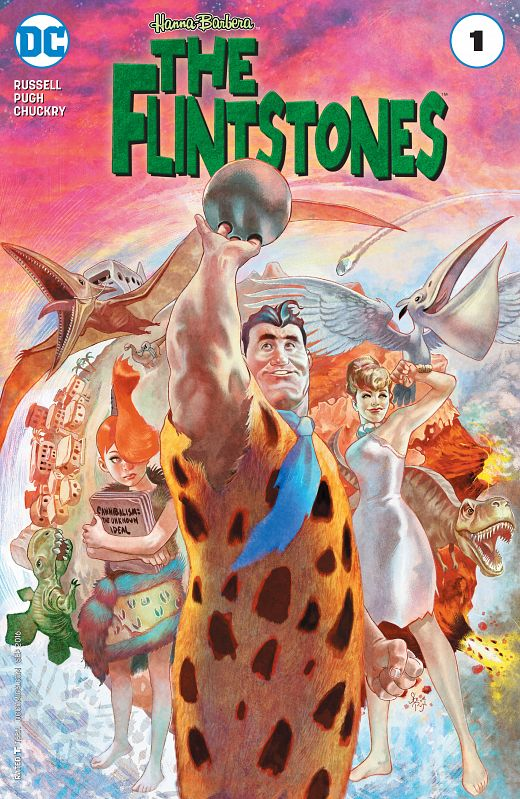 The Flintstones #1-12 (2016-2017)