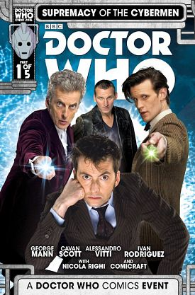 Doctor Who Supremacy Of The Cybermen #1-5 (2016) Complete