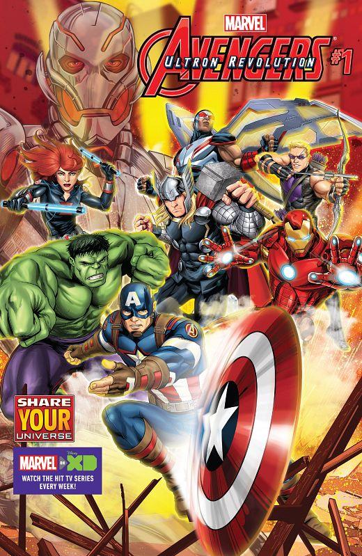 Marvel Universe Avengers - Ultron Revolution #1-9 (2016-2017)