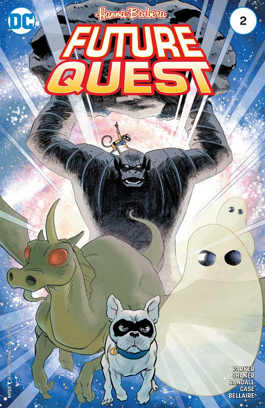 Future Quest #1-12 (2016-2017) Complete
