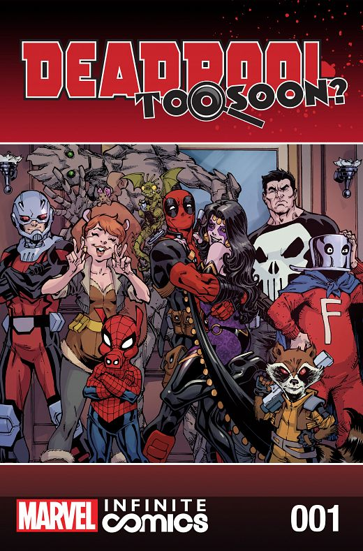 Deadpool - Too Soon? Infinite Comic #1-8 (2016) Complete