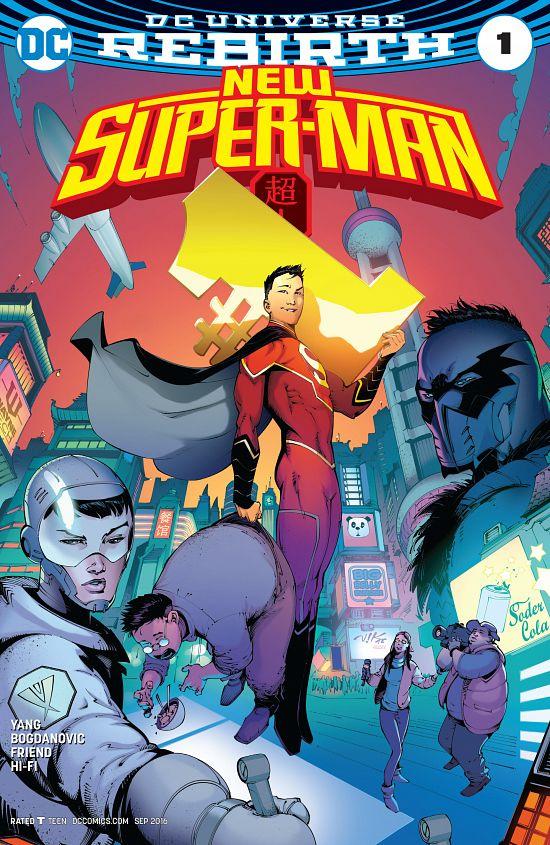New Super-Man #1-8 (2016-2017)