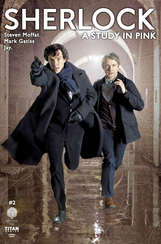 Sherlock - A Study in Pink #1-6 (2016) Complete