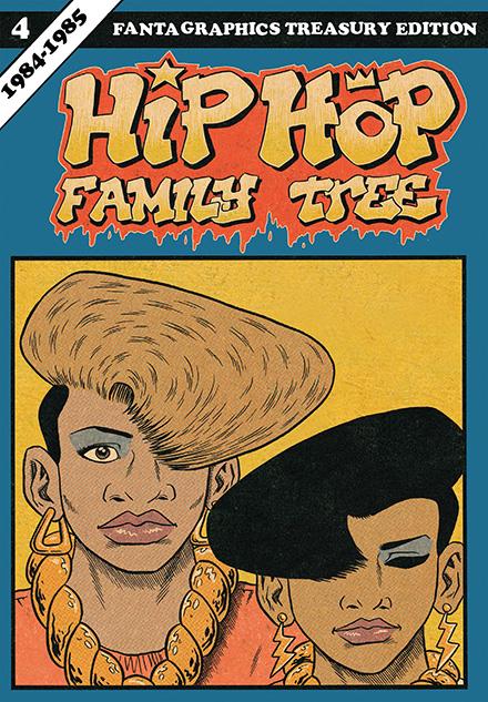 Hip Hop Family Tree v04 - 1984-1985 (2016)