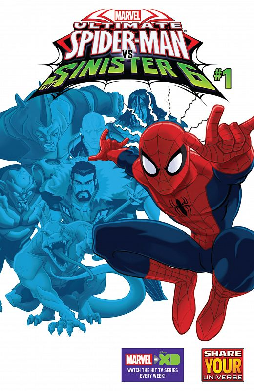 Marvel Universe Ultimate Spider-Man vs. The Sinister Six #1-11 (2016-2017)